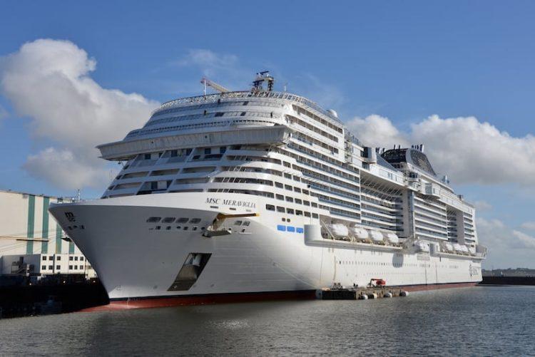 MSC Meraviglia wurde offiziell an MSC Kreuzfahrten übergeben / Foto © MSC Kreuzfahrten