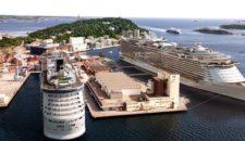 Kristiansand eröffnet neues Kreuzfahrtterminal