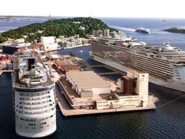 Das neue Kreuzfahrt-Terminal in Kristiansand / © Kristiansand Cruise Port