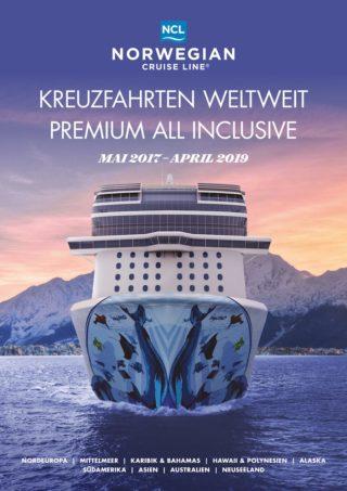 Norwegian Cruise Line Katalog bis April 2019