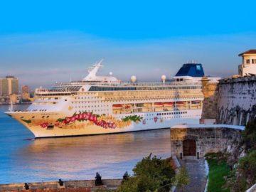 Norwegian Sky hat erstmals in Havanna auf Kuba festgemacht / © Norwegian Cruise Line