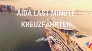 AIDA Last Minute Kreuzfahrten - Günstige AIDA Reisen buchen