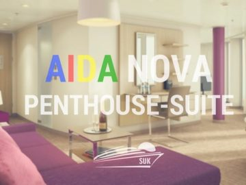 AIDAnova: Penthouse Suite auf Deck 12 - Kabinennummer 12603