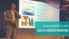 Video: Costa Kreuzfahrten – Katalogvorstellung 2017/2018, Kochshow & Highlights
