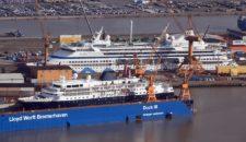 Lloyd Werft: Kreuzfahrtschiffe & Yachten sichern Arbeitsplätze