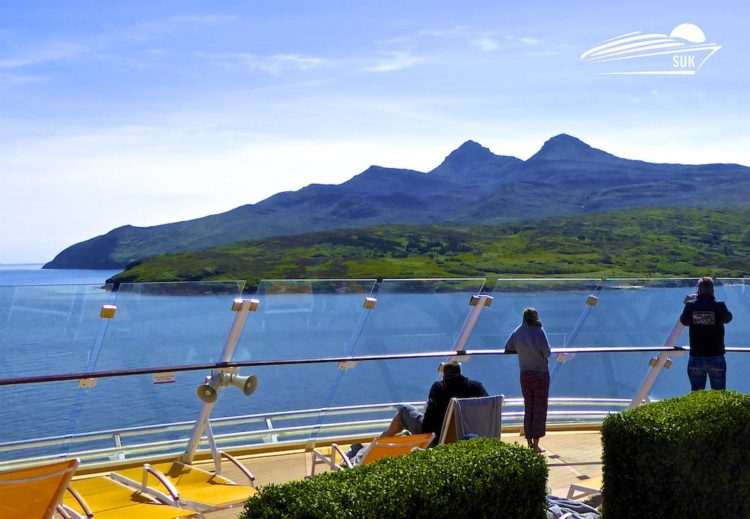 Mein Schiff 4 Reisebericht - Großbritannien mit Irland: Zweiter Seetag