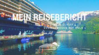 Mein Schiff 4 Reisebericht Südnorwegen mit Oslo 1