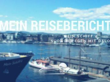 Mein Schiff 4 Reisebericht Südnorwegen mit Oslo