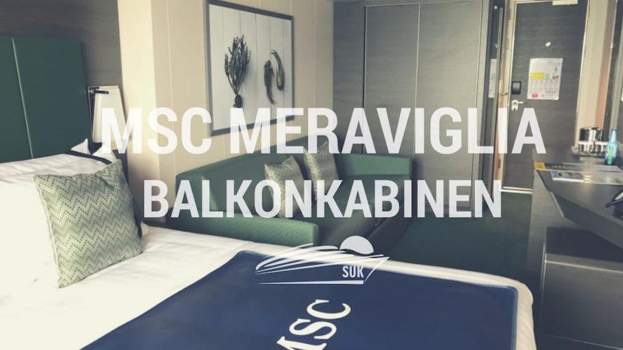 MSC Meraviglia: Balkonkabinen