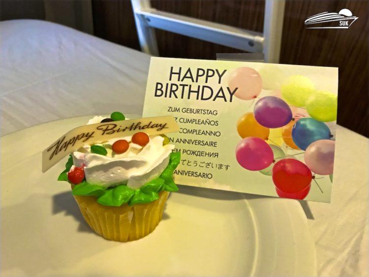 Happy Birthday - Geburtstagsmuffin
