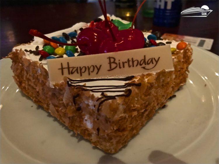 Leon's Überraschungs-Geburtstagstorte im O'Sheehan's