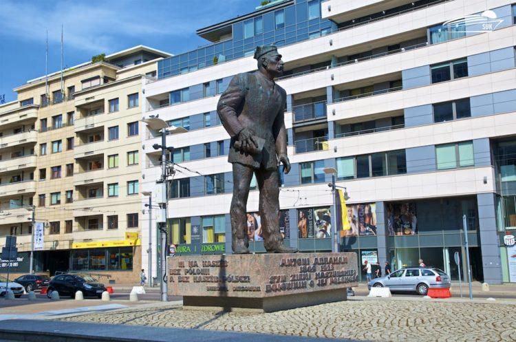Stadtzentrum Gdingen