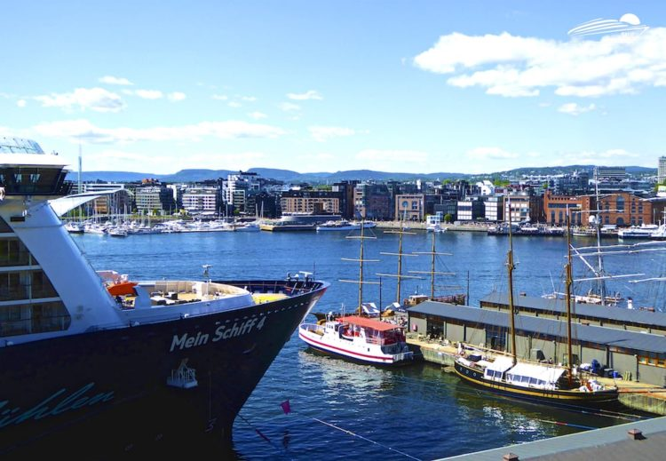 Mein Schiff 4 in Oslo