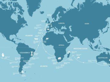 AIDAaura Weltreise 2018