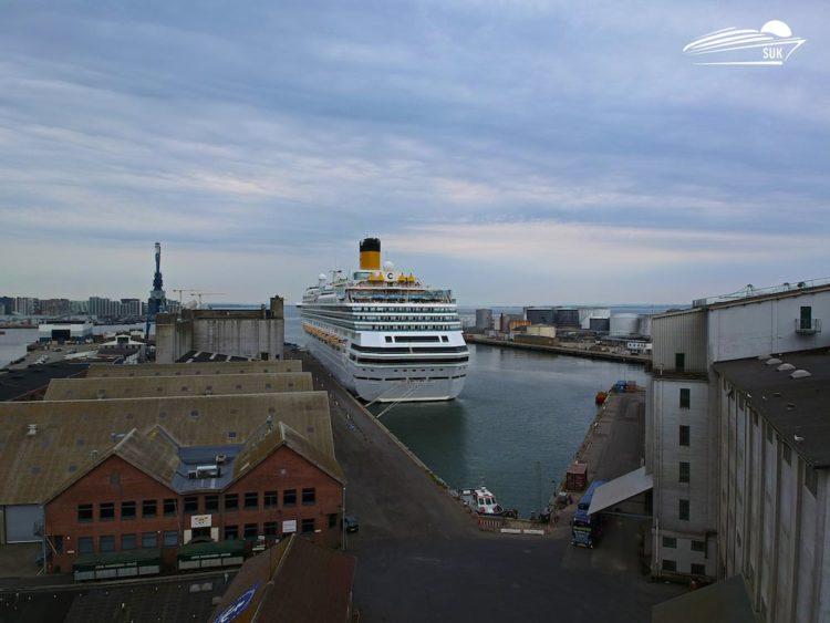 Costa Favolosa in Aarhus