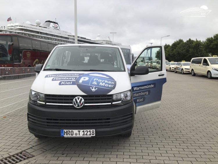 Parken & Meer in Warnemünde