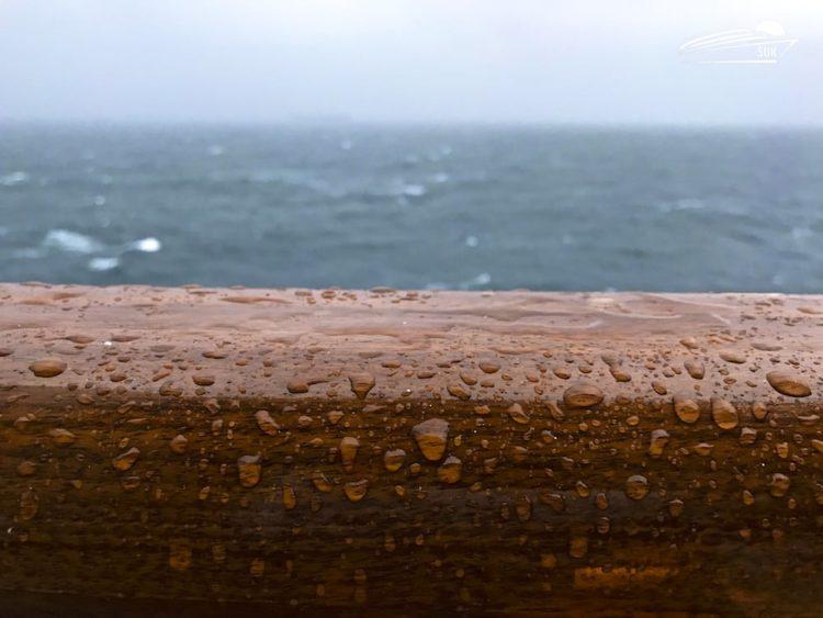 Regen am Seetag