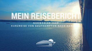 Norwegian Jade Reisebericht Kurzreise von Southampton nach Hamburg