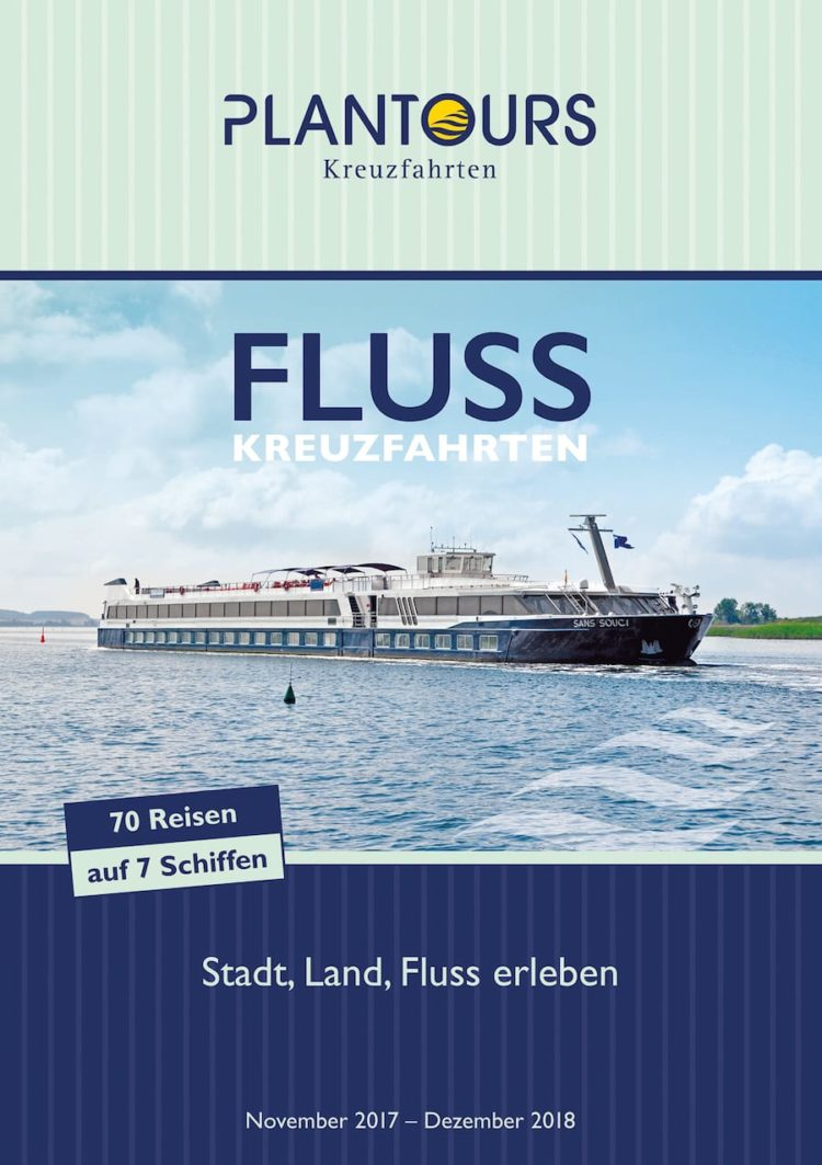 Plantours Flusskreuzfahrten 2018 / © Plantours und Partner
