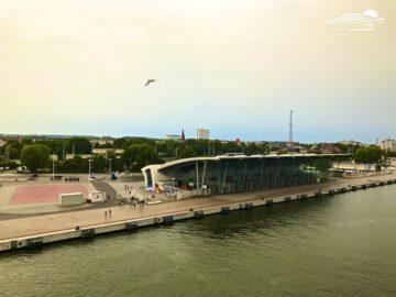Das Cruiseterminal Warnemünde