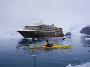 """Der Neubau für Quark Expeditions - die """"World Explorer"""" startet für Nicko Cruises"""