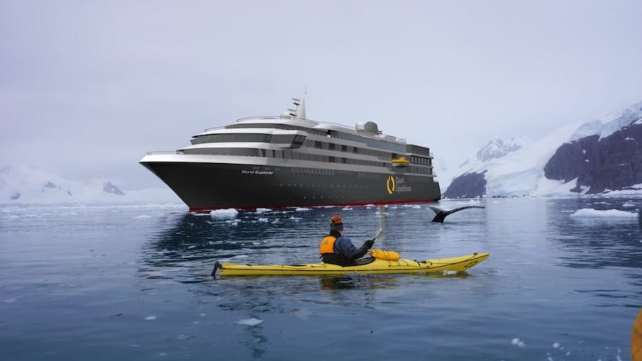"Der Neubau für Quark Expeditions - die ""World Explorer"" startet für Nicko Cruises"