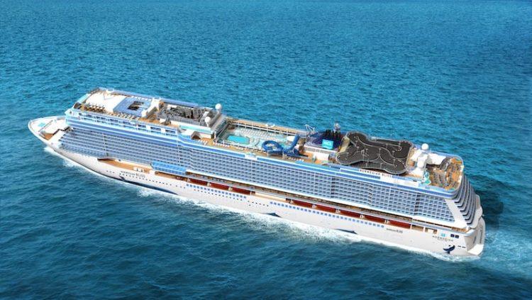 Norwegian Bliss Droneshot / Norwegian Cruise Line