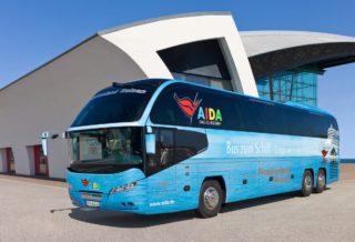 AIDA Bustransfer für Individualreisende entfällt ab Winter 2017/2018 / © AIDA Cruises