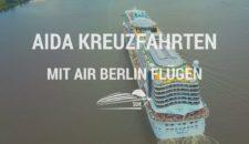 Infos: AIDA Kreuzfahrten mit Flügen von Air Berlin