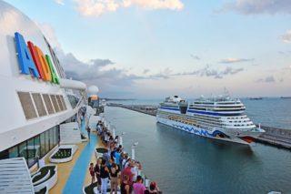 AIDA Schiffsbesichtigung während einer Kreuzfahrt im Hafen ist ab sofort möglich / © AIDA Cruises