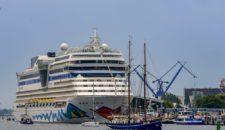 AIDA auch 2017 wieder auf der Hansesail mit AIDAmar & AIDAdiva