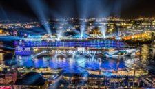 Hamburg Cruise Days 2017: AIDAprima führt die Schiffsparade an