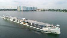 """Luxus-Flusskreuzfahrtschiff """"Crystal Bach"""" wurde getauft"""