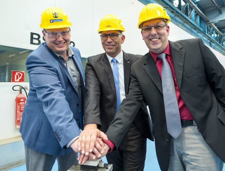 Brennstart der neuen Spectrum of the Seas auf der Meyer Werft in Papenburg / © Meyer Werft
