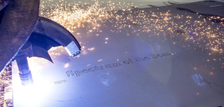 Brennstart der neuen Spectrum of the Seas auf der Meyer Werft in Papenburg / © Meyer Werft