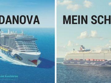AIDAnova oder Mein Schiff 1 - was ist wirklich inklusive - der große Vergleich