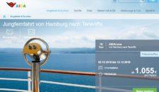 AIDAnova: Von Hamburg nach Teneriffa 2