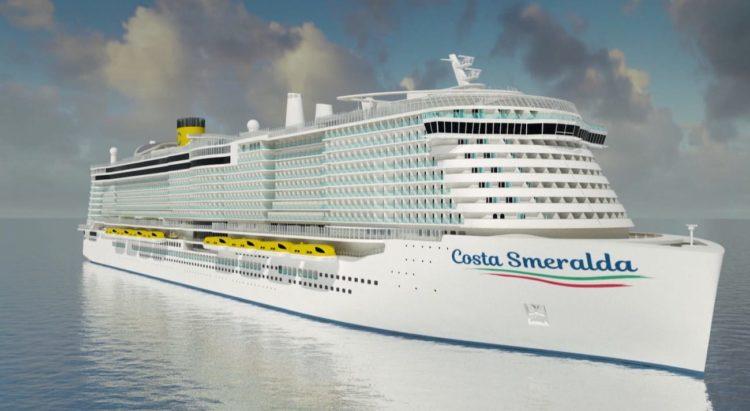 Costa Smeralda - das neue LNG Schiff von Costa Kreuzfahrten