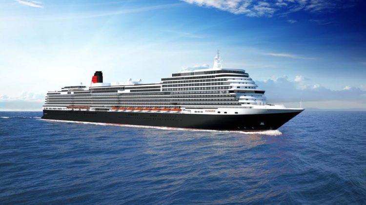Eine neue Queen für Cunard - Auslieferung 2022 von der Fincantieri Werft / © Cunard Line