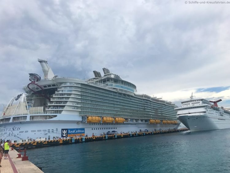 Harmony of the Seas:  Karibik Kreuzfahrten
