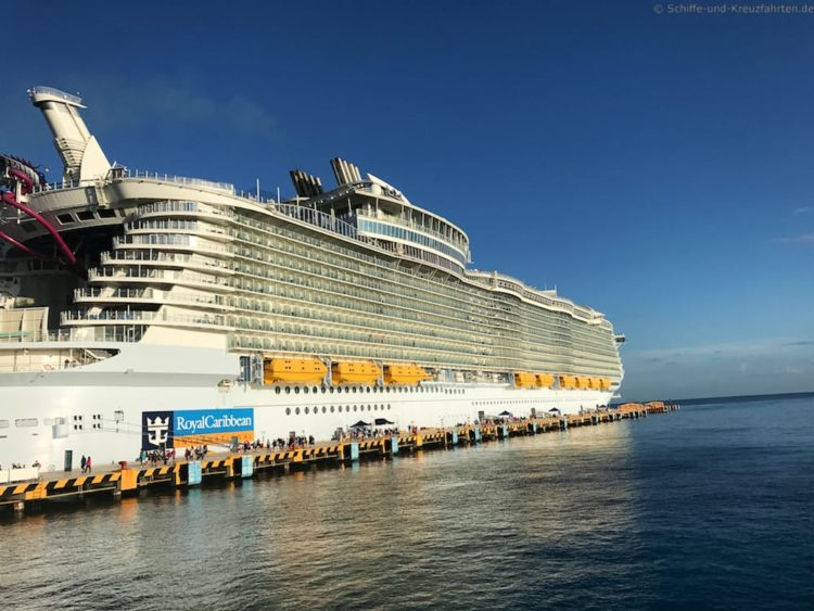 Harmony of the Seas in Cozumel