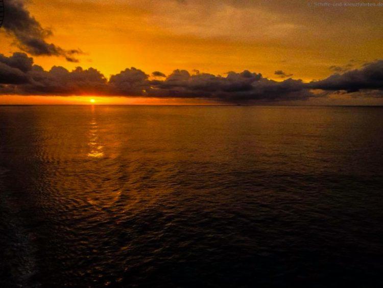 Sonnenaufgang vor Jamaika