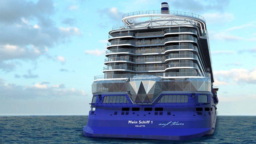 Neue Mein Schiff 1 © TUI Cruises. Mehr ...
