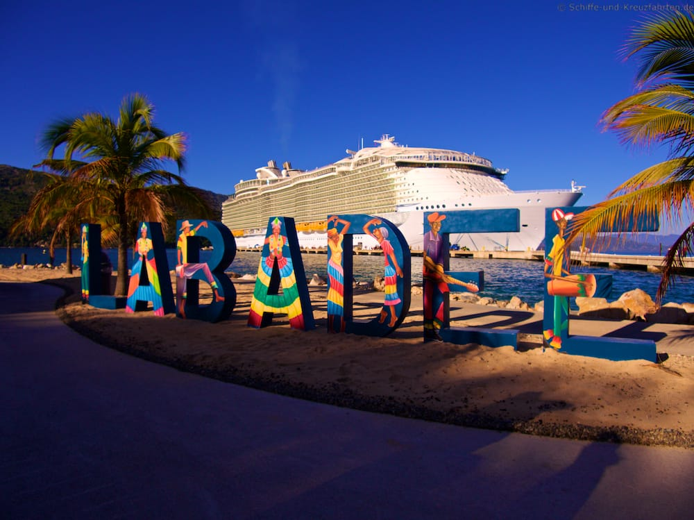 Labadee - die Privatinsel von Royal Caribbean