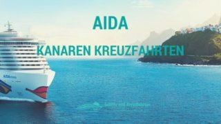Alle AIDA Kanaren Kreuzfahrten auf einen Blick