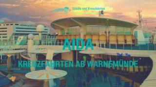 AIDA Kreuzfahrten ab Warnemünde