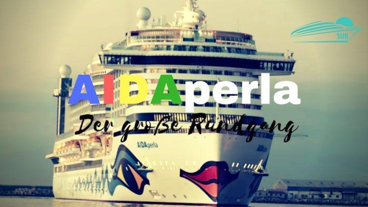 Der große AIDAperla Rundgang - das neue AIDA Kreuzfahrtschiff auf einen Blick. Alle Details und öffentlichen Bereiche der neuen AIDAperla zeigen wir euch im AIDAperla Rundgang. 1 Stunde und 20 Minuten nehmen wir euch mit auf hohe See, auf das aktuelle AIDA Flaggschiff.