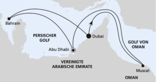 AIDAprima: Orient ab Dubai / ©AIDA Cruises