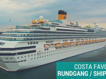 Video-Rundgang der Costa Favolosa