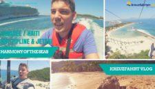 Video: Harmony of the Seas Kreuzfahrt Vlog: Karibik pur und viel Spaß mit dem größten Schiff der Welt